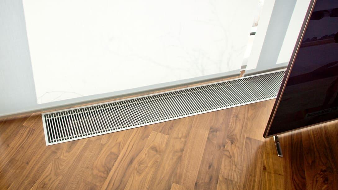 Конвекторы отопления водяные встраиваемые в пол ...